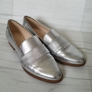 Nine West Silver Shayling Loafers
